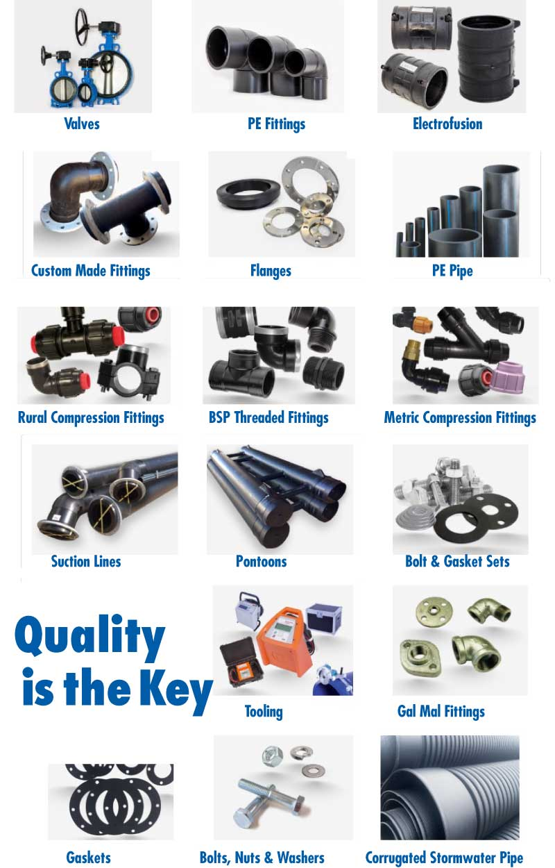 GWG Valves & Poly Fittings